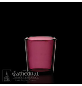 Votive Light Glasses - Purple - 15 Hour (12)