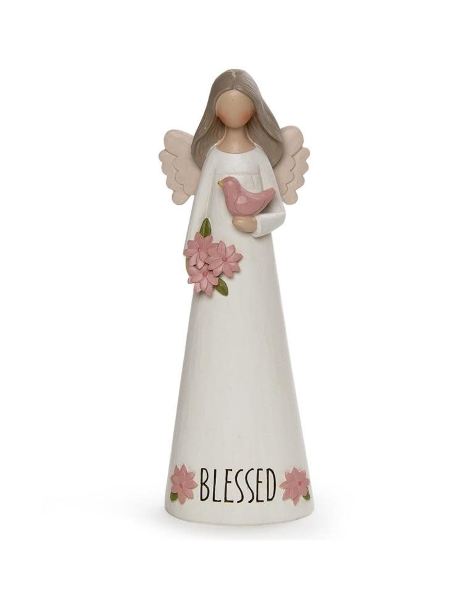 """""""Blessed"""" Angel with Bird"""