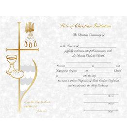 Certificate RCIA Full Communion (50)