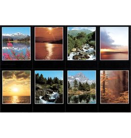 Holy Cards - Laser - Nature (Sheet of 8)
