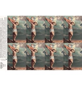 Holy Cards - Laser - Crucifixion (Sheet of 8)
