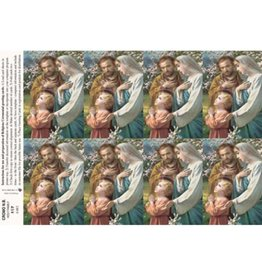 Holy Cards - Laser - Holy Family (Sheet of 8)