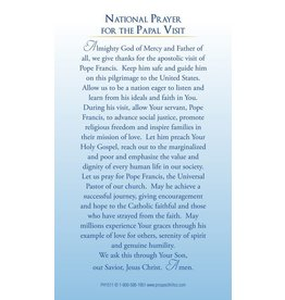 Holy Cards - Pope Francis U.S. Visit (100)