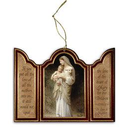 L'Innocence Triptych Wood Ornament