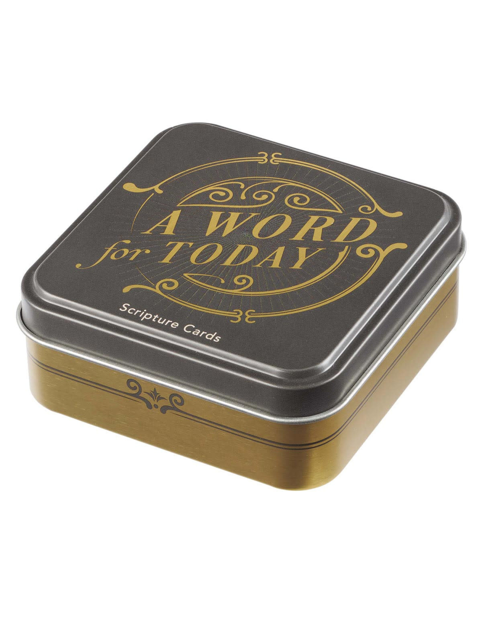 A Word for Today Scripture Cards in a Gift Tin