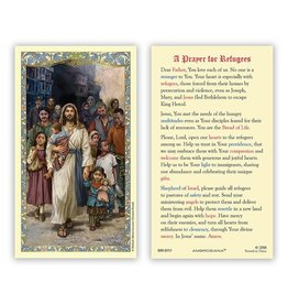 Laminated Holy Cards - Welcome the Stranger (Prayer for Refugees) (25)