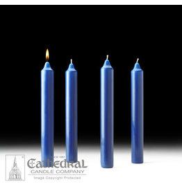 Advent Candles 1.5x12 (4 Sarum Blue)
