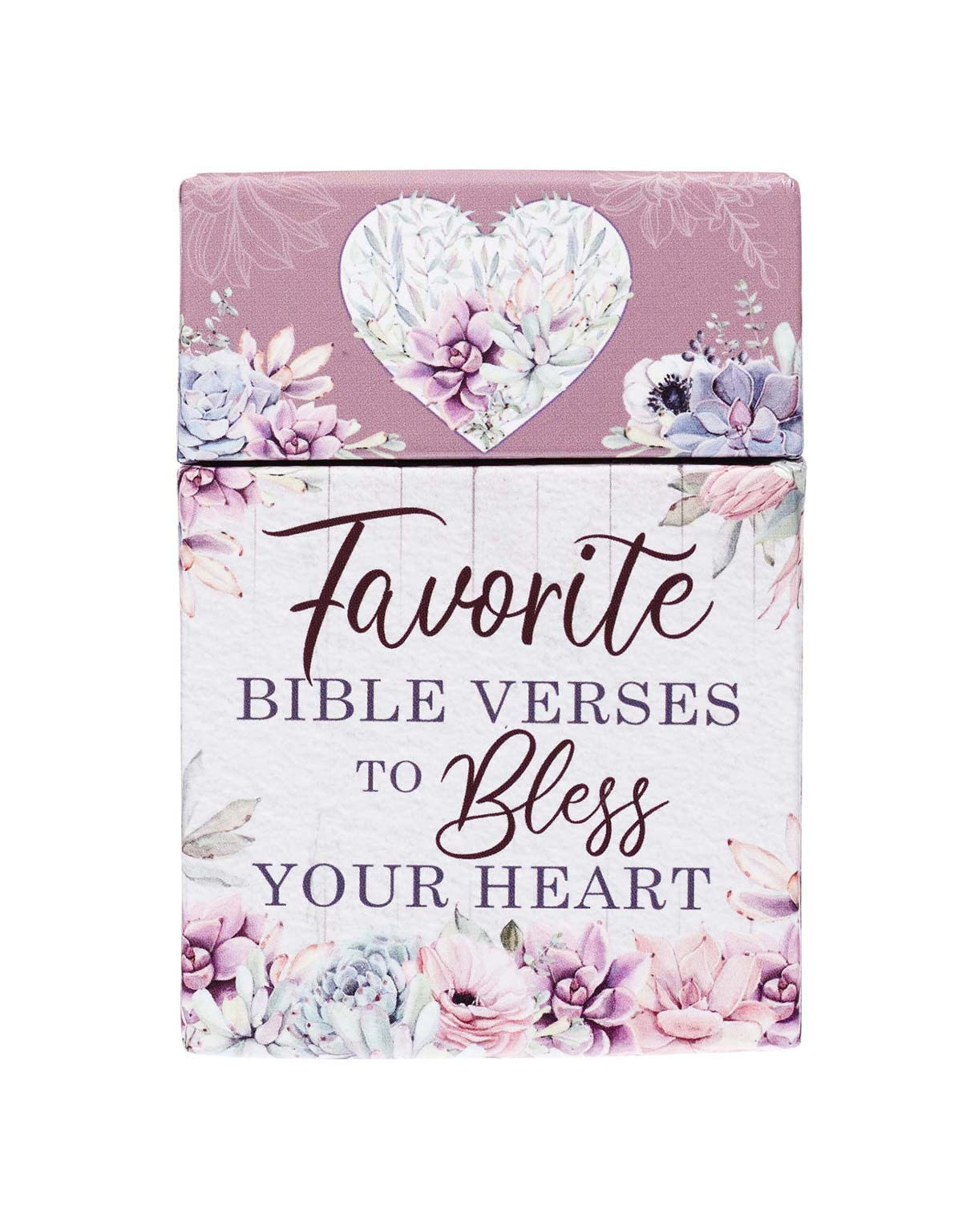 Box of Blessings - Favorite Bible Verses to Bless Your Heart
