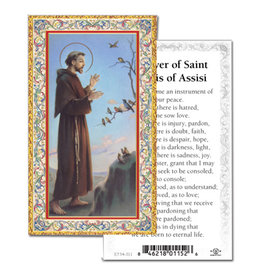 Holy Cards - St. Francis of Assisi (100)