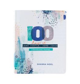 Devotional Journal - 100 Days of Less Hustle, More Jesus