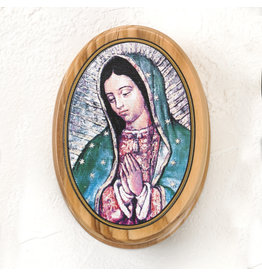 Rosary Box - Our Lady of Guadalupe - Olive Wood