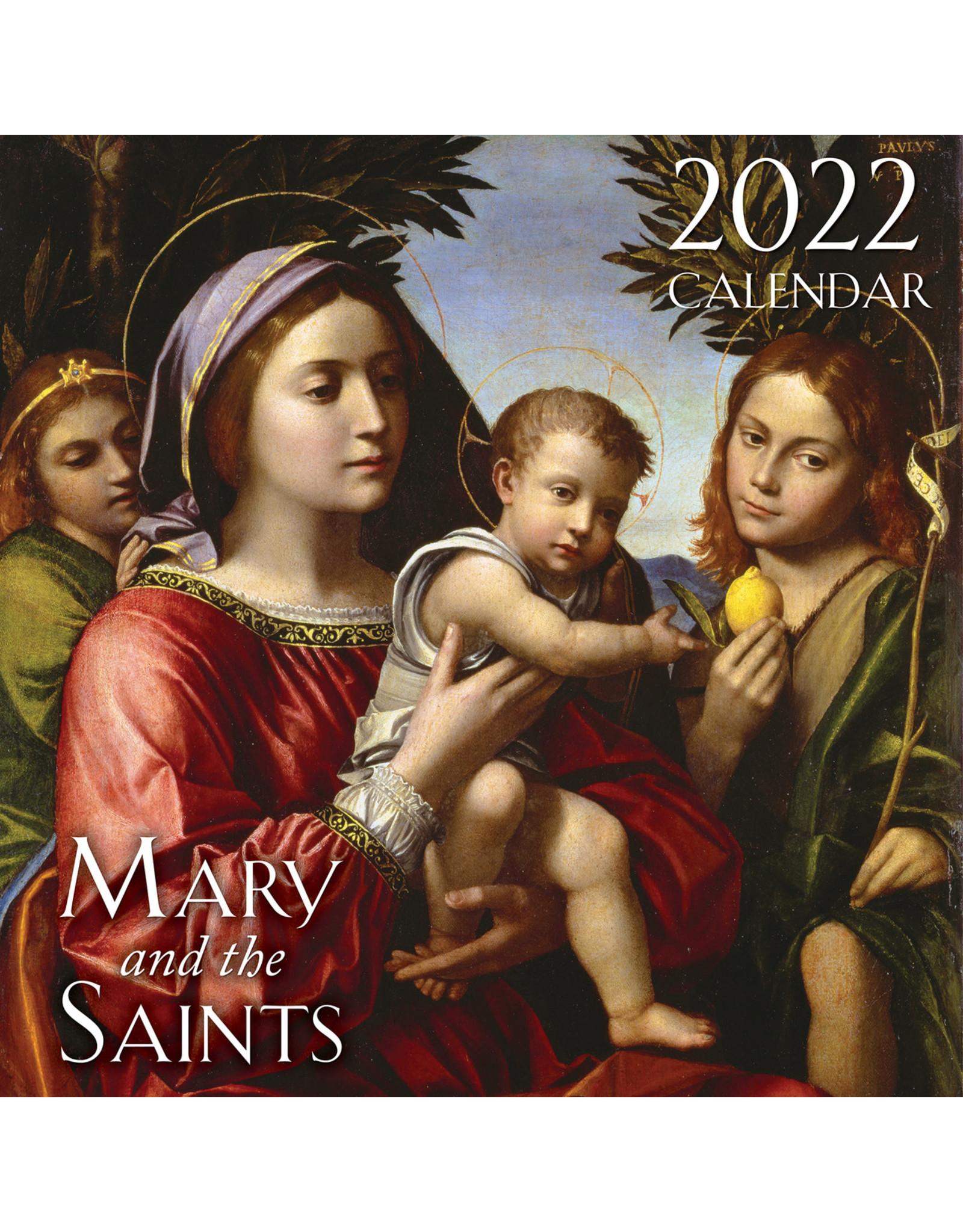 2022 Mary and the Saints Wall Calendar