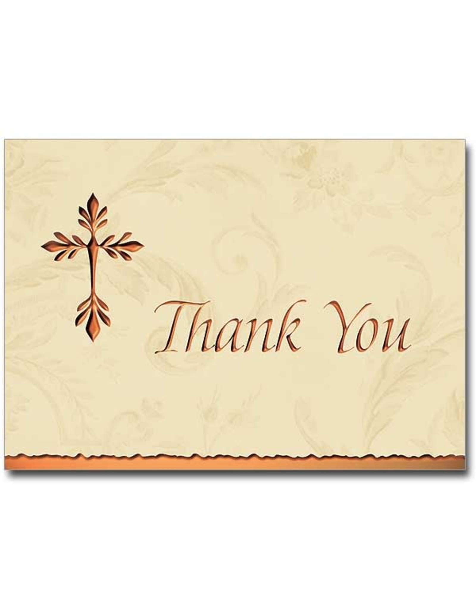 Boxed Cards - Thank You Tree of Life Cross (Pack of 12)