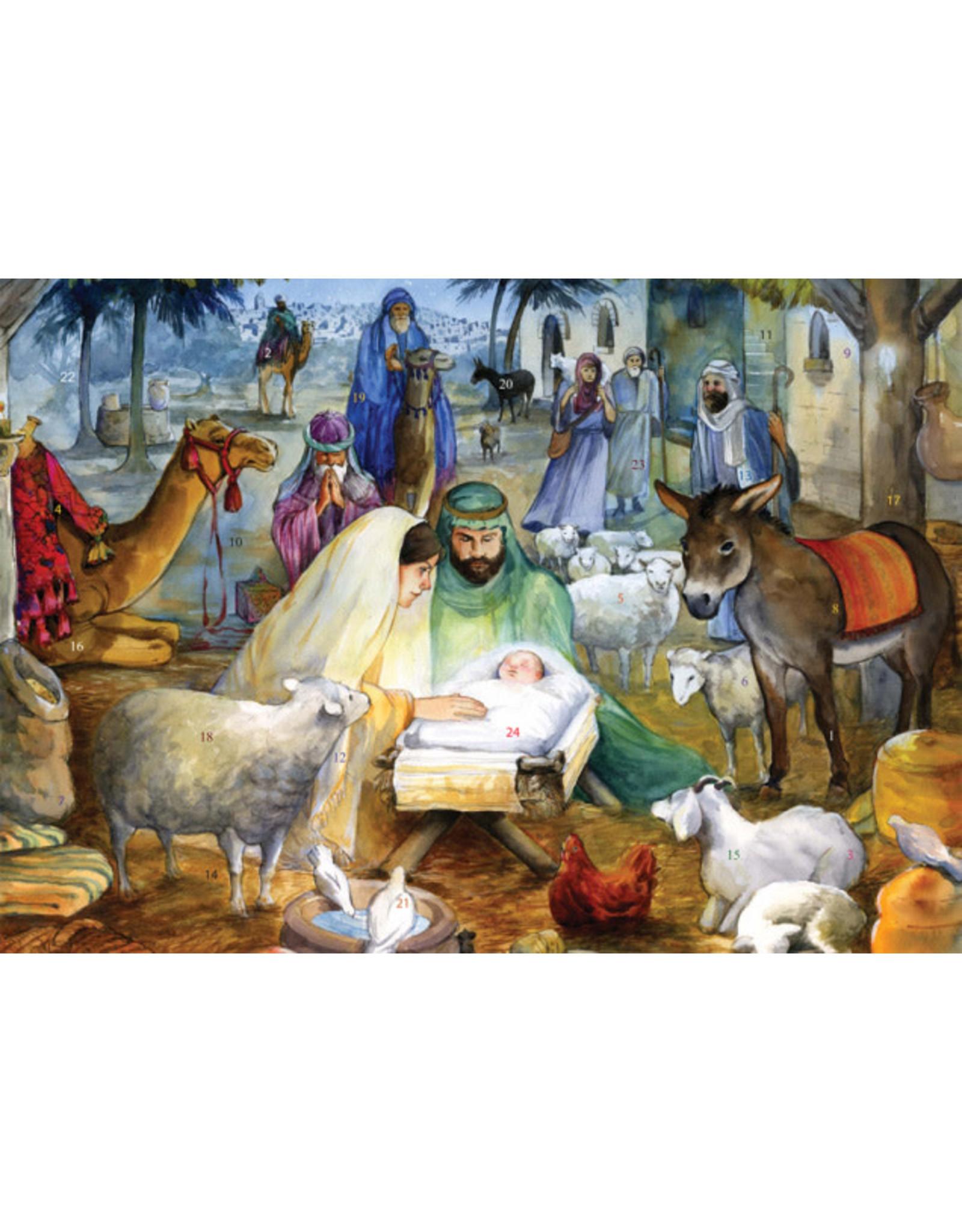 Advent Calendar - Newborn Child