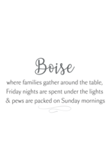 Boise Gather Around the Table Framed Picture 12x15.75