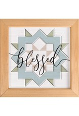 Blessed Framed Picture 12x12