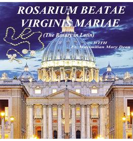 Rosarium Beatae Virginis Mariae (Rosary in Latin) 2 CD