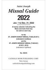 2022 Guide for the St. Joseph Missal