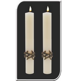 Crown of Thorns Side Candles 1.5x12 (Pair)
