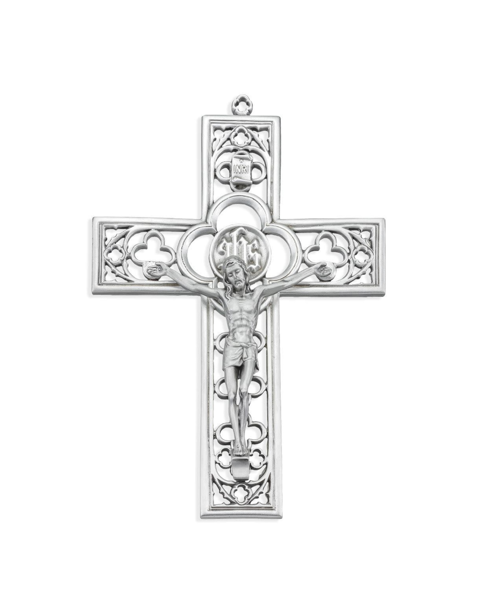 """6"""" Genuine Pewter """"Cathedral Touch"""" Crucifix"""