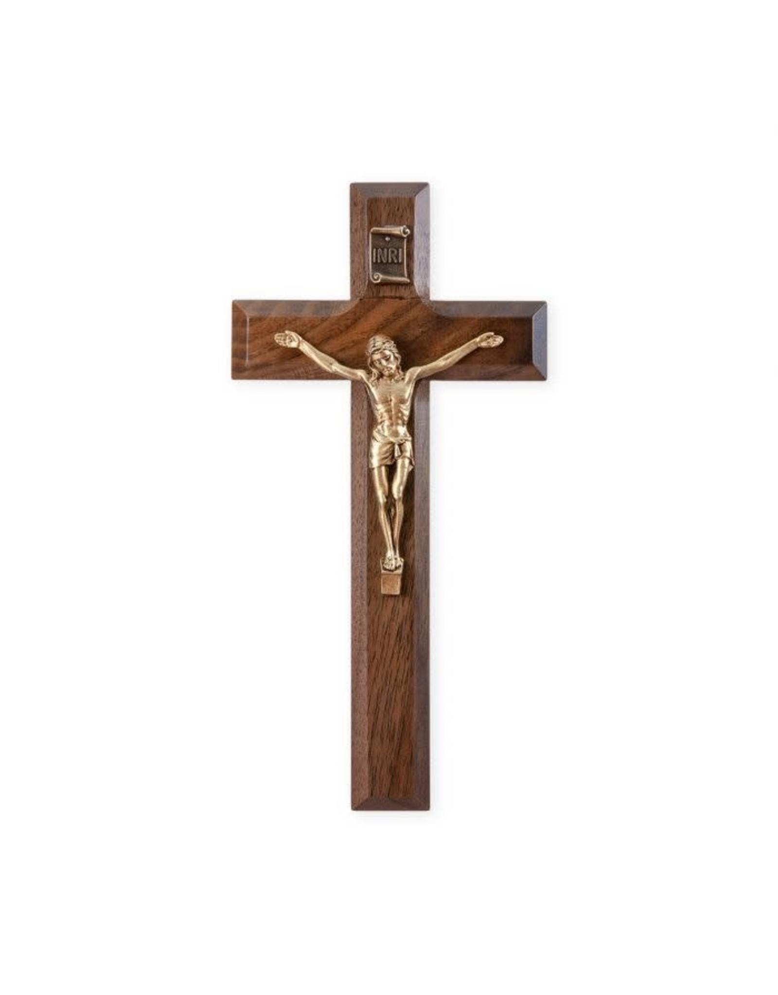 "7"" Walnut Cross w/Gold Corpus"