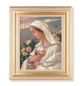 "11-1/2""x13-1/2"" Mystical Rose Framed Picture"
