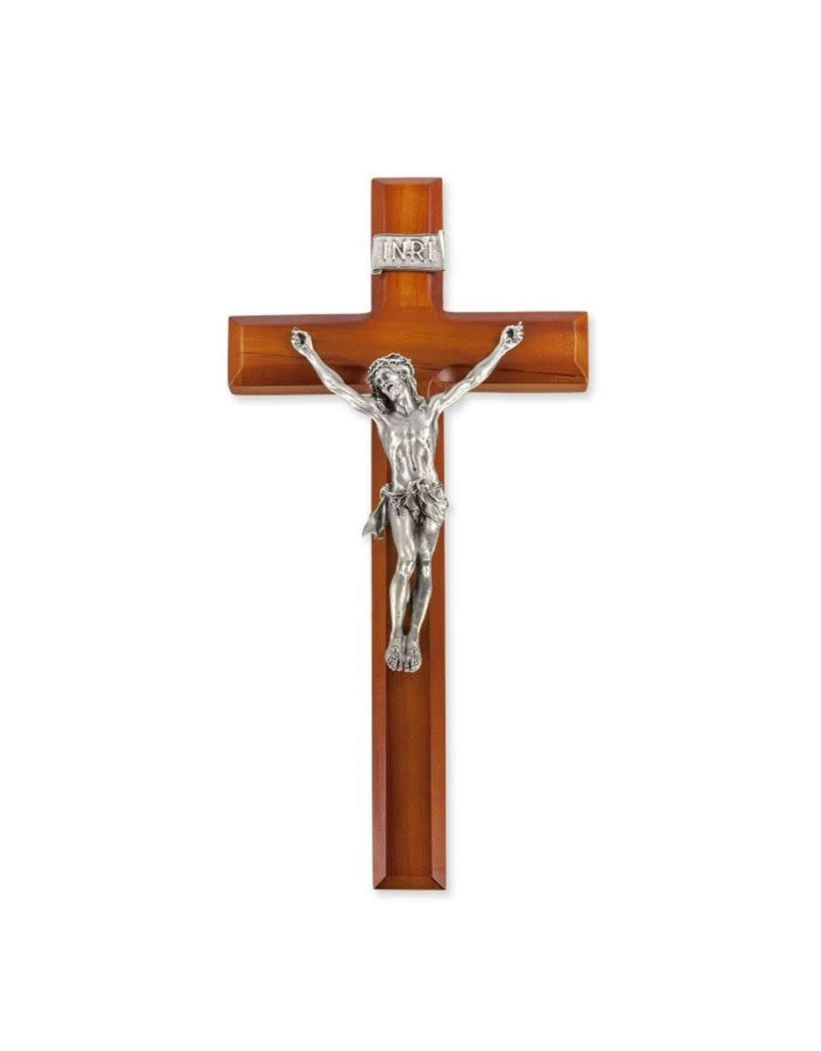 """12"""" 2-Tone Cross with Pewter Corpus"""