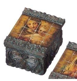 Tile Art Box - Madonna & Child