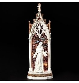 St. Francis LED Arch Window Statue