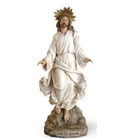 "Christ is Risen Statue 12"""