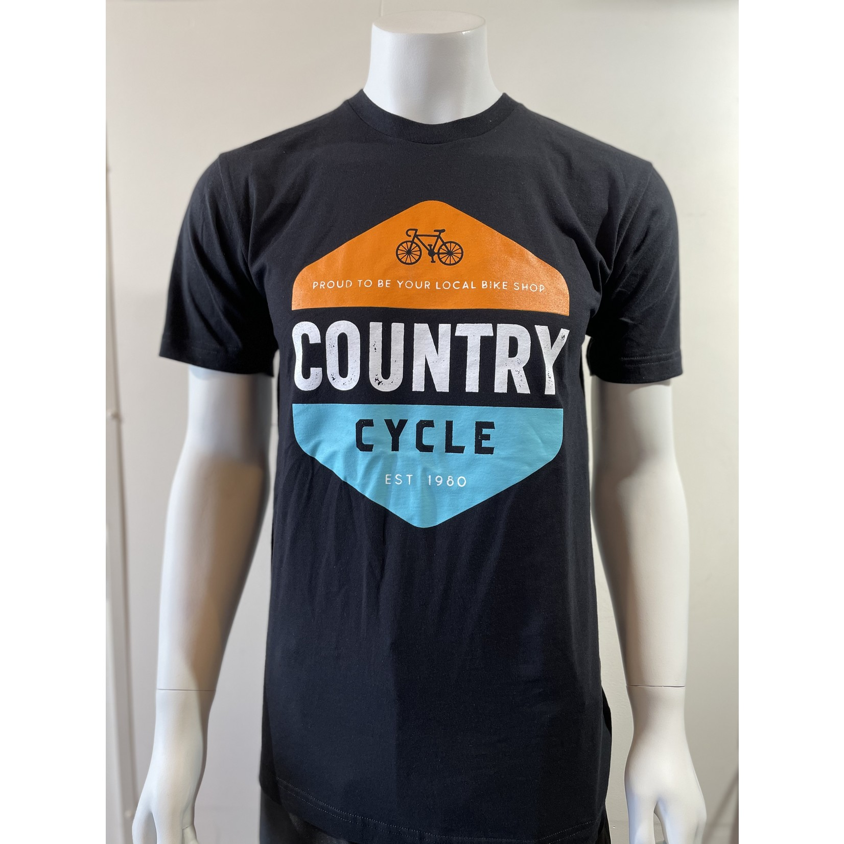 American Apparel Country Cycle Unisex T Shirt (XS-XXL)