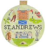 Canvas ST ANDREWS TRAVEL ROUND  KB1321