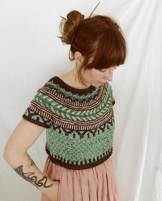 Class SOLDOTNA SWEATER  STRANDED KNITTING KAL 2019 At The NeedleTree