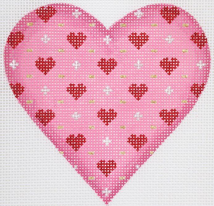 Canvas VALENTINE MINI HEART  OM250