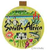 Canvas TRAVEL ROUND- SOUTH AFRICA  KB1373