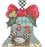 Canvas 12 BELLS OF CHRSTMAS BELL 3   KCKBL03