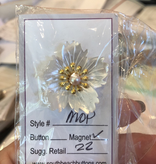 Accessories NEEDLE MINDER - MOTHER OF PEARL FLOWER
