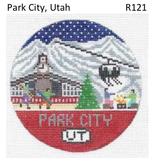 Canvas PARK CITY ROUND R121