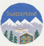 Canvas SWITZERLAND ROUND 444