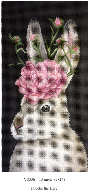 Canvas PHOEBE THE HARE  VS336