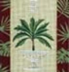 Canvas PALM TREE BELLPULL  V330  SALE  REG $240