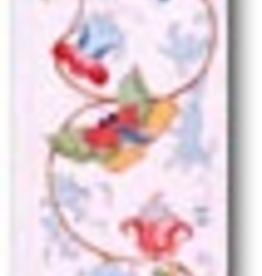 Canvas BUTTERFLIES BELLPULL  D81  SALE  REG $225
