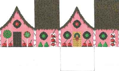 Canvas CHOCOLATE SPRINKLES GINGERBREAD HOUSE  5232-18