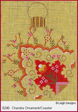 Canvas CHANDR ORNAMENT 8246