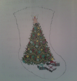 Canvas TREE MINI SOCK  WJ2516