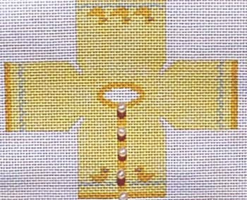 Canvas CHILDS YELLOW SWEATER TOPPER  TO15
