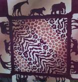 Canvas SAFARI ANIMAL PRINTS  P032 - SALE REG 22.00