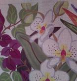 Canvas TROPICAL FLORA  23J - SALE REG 150.00