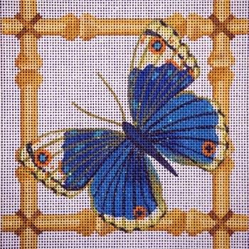 Canvas BLUE BUTTERFLY  B11