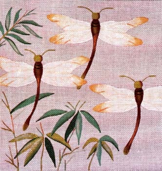 Canvas DRAGONFLIES IN BAMBOO  B242